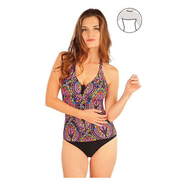 c9c3af1e9 Plavky top dámský bez výztuže - LITEX Barva 0 Velikost L